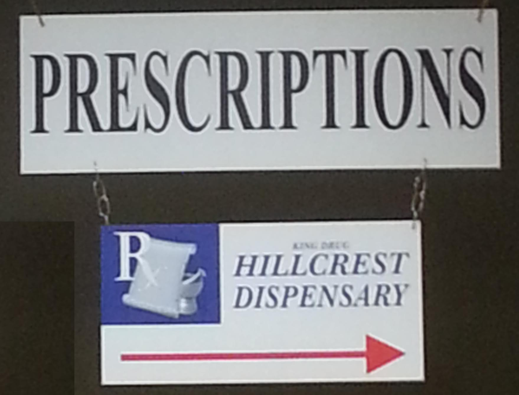 picture of pharmacy sign